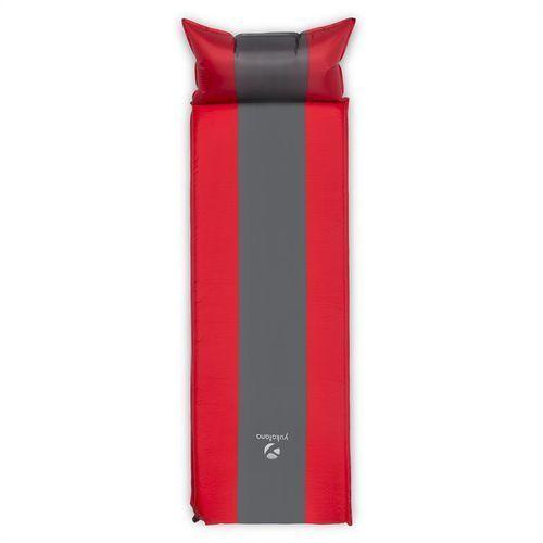 Yukatana Goodsleep 3 izomata/karimata 3cm materac powietrzny samopompująca czerwono-szara