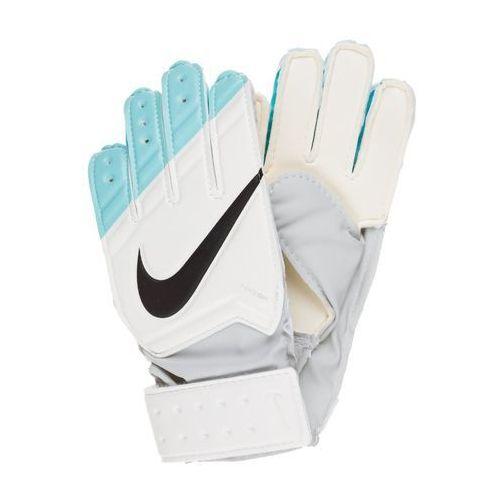 GRIP Rękawice bramkarskie white/hyper turquoise/black, Nike Performance z Zalando.pl
