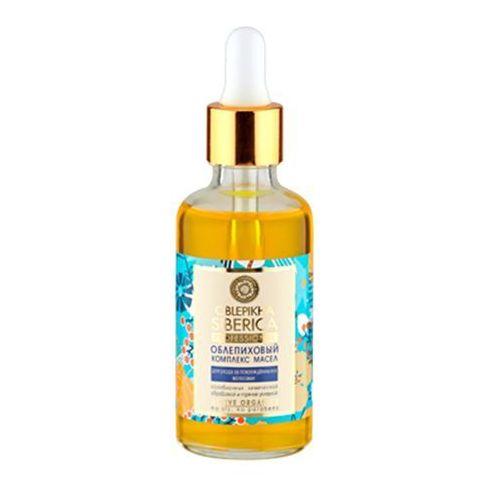 Natura Siberica Professional - rokitnikowy kompleks olei do włosów zniszczonych - organiczne oleje: rokitnika ałtajskiego, arganowy, cedrowy, kiełków pszenicy, witamina A i E oferta ze sklepu Kosmetyki Naturalne Maya