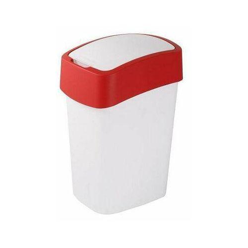 Kosz na śmieci Sorter na śmieci Flip Bin 50L red.wh - produkt dostępny w twojekosze.pl