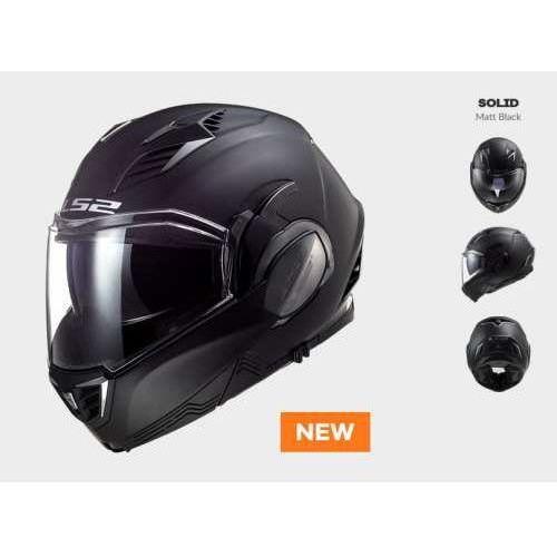 Ls2 Kask motocyklowy ff900 valiant ii solid matt black
