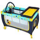 Produkt z kategorii- łóżeczka turystyczne - BabyOno 285/02 Łóżeczko turystyczne z pełnym wyposażeniem, Tukan