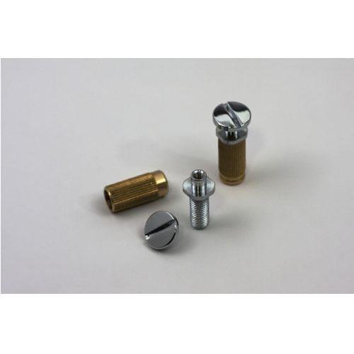 Tonepros msprs-c - locking studs, części mostka do gitary, chromowane