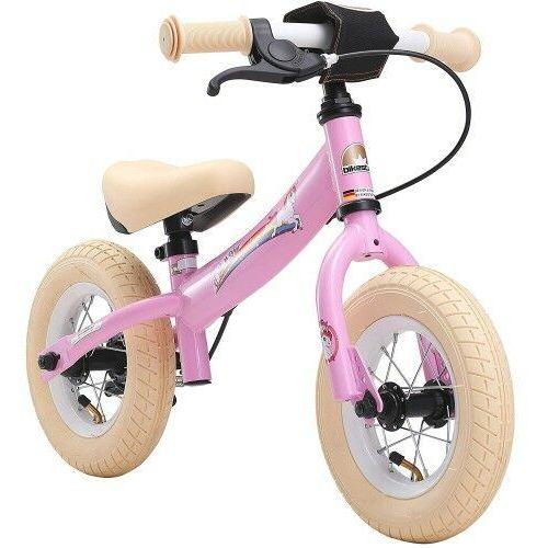 """Rowerek biegowy 10"""" BIKESTAR GERMANY sport kolor różowy jednorożec"""