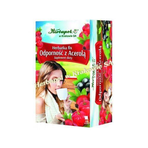 Herbatka fix odporność z acerolą marki Herbapol