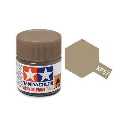 Farba akrylowa - XF57 Buff matt / 10ml Tamiya 81757 (45035838)