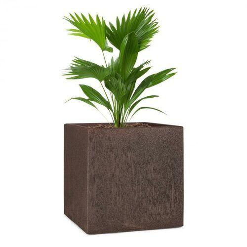 Blumfeldt Solid Grow Rust, pojemnik na rośliny, 40 x 41 x 40 cm, Fibreclay, kolor rdzawy (4060656225857)