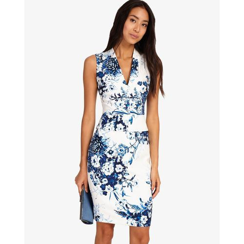 chinoisserie print dress marki Phase eight