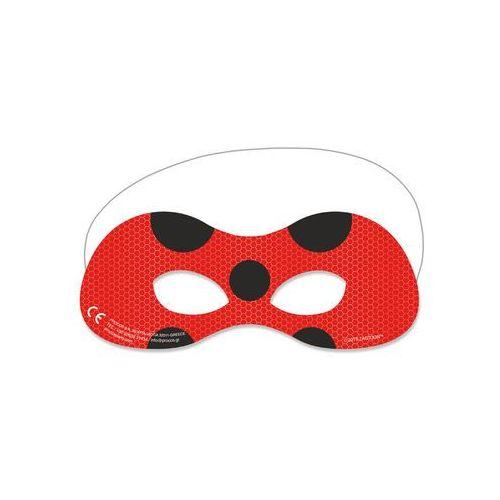 Maski na oczy miraculum - 6 szt. marki Procos disney
