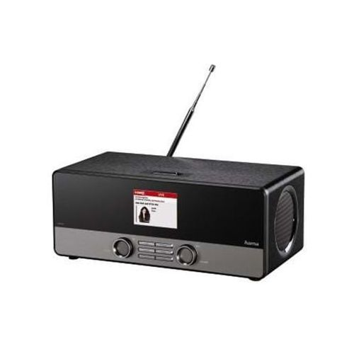 tuner radia dab dab+ & internet radio black - dab/dab+/fm - stereo - czarny marki Hama