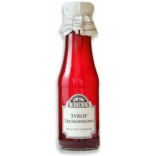 Syrop truskawkowy sok truskawki 375g - krokus marki 193krokus