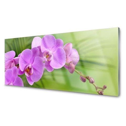 Obraz Szklany Storczyk Orchidea Kwiaty