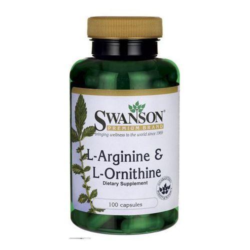 Swanson L-Arginina & L-Ornityna 100 kaps.