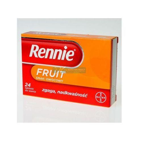 Rennie Fruit,tabl.do ssan.,sm.owoc.,24szt,bl(2x12), produkt z kategorii- Leki na zgagę