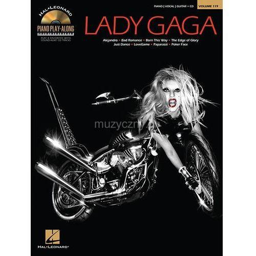 Pwm lady gaga - piano play-along (utwory na fortepian, wokal i gitarę + cd)