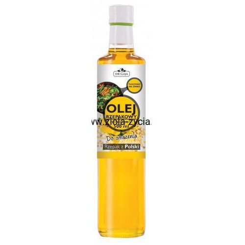 Olej Rzepakowy do Smażenia, zimnotłoczony, nierafinowany - Dr Gaja, 23108718