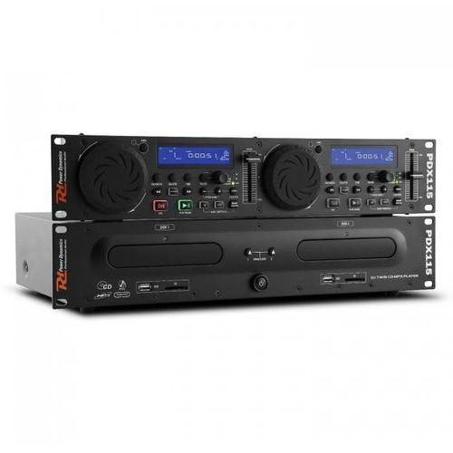 Power dynamics Pdx115 podwójny odtwarzacz cd controller dla dj'ów cd ubs sd mp3 możliwość montażu w racku