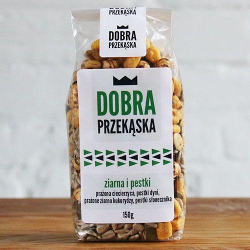 Aura herbals Dobra przekąska ziarna i pestki 150 g 150 g