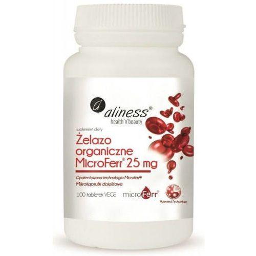 ALINESS Żelazo Microferr 25mg x 100 tabletek