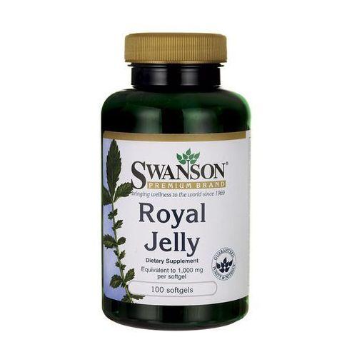 Swanson Royal Jelly (Mleczko pszczele) 3x333,33mg 100 kaps., SWANSON