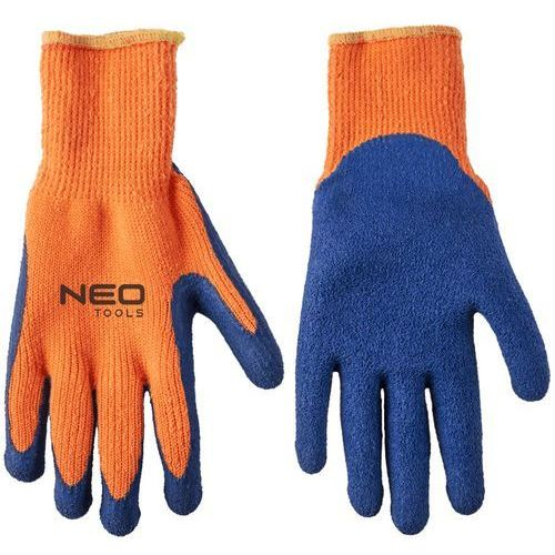 Neo Rękawice robocze 97-611 niebiesko-pomarańczowy (rozmiar 10) (5907558421804)