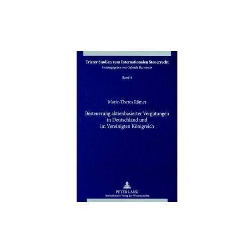 Besteuerung aktienbasierter Vergütungen in Deutschland und im Vereinigten Königreich