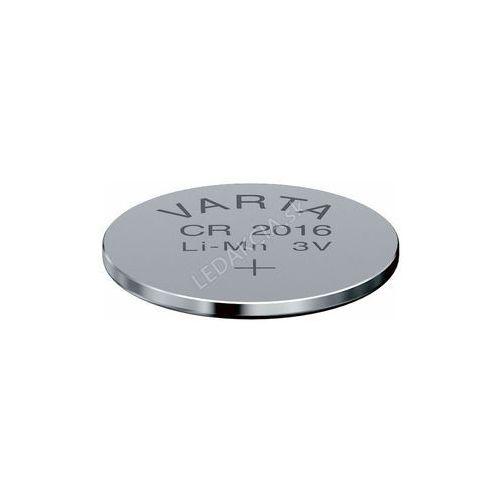 Varta bateria CR2016 Lithium 3.0V + Bezpłatna natychmiastowa gwarancja wymiany!