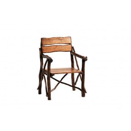 Krzesło dębowe z podłokietnikiem RUSTICA, F36E-35354_20180117131749
