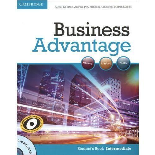 Business Advantage Intermediate Książka Ucznia Plus DVD, oprawa miękka