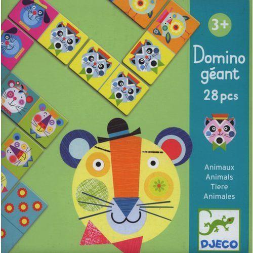 Domino gigant zwierzeta marki Djeco