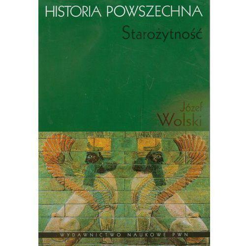 Historia powszechna Starożytność, oprawa miękka