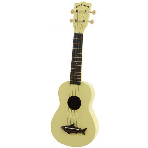 makala shark mkss-ylw ukulele sopranowe, żółte marki Kala