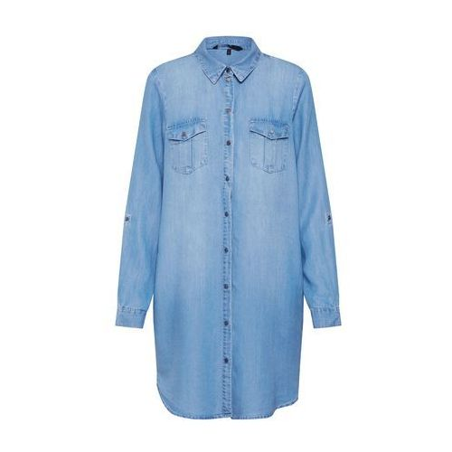 VERO MODA Sukienka koszulowa 'Silla' niebieski denim (5713615111706)