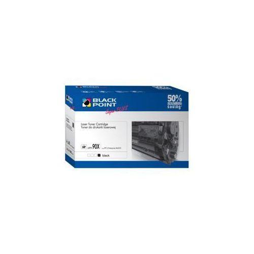 HP CE390X BLACK POINT Super PLUS (+13 proc. wyd.) zam.Toner HP LaserJet Enterprise: M4555, M4555F, M4555fskm, M4555h LaserJet Enterprise 600: M601n, M (toner, bęben)