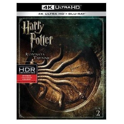 Harry potter i komnata tajemnic 4k (blu-ray) - chris columbus darmowa dostawa kiosk ruchu marki Galapagos