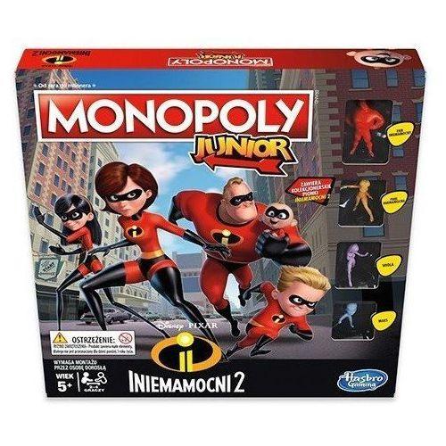 Gra monopoly junior iniemamocni 2 - darmowa dostawa od 199 zł!!! marki Hasbro