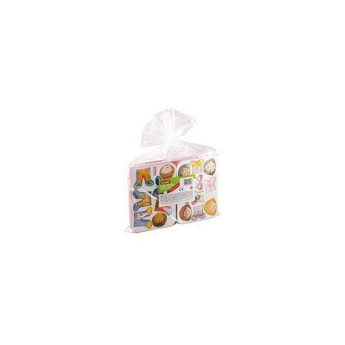 Układanka magnetyczna Dress Baby 24 sztuki mix - Quercetti, towar z kategorii: Gry planszowe