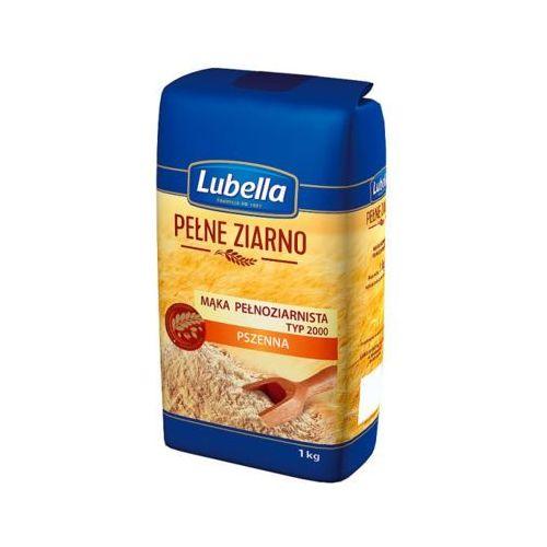 Lubella 1kg pełne ziarno mąka pełnoziarnista pszenna