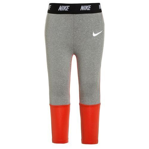 Nike Performance DRIFIT SPORT ESSENTIALS COLORBLOCK Legginsy dark grey heather, kolor szary