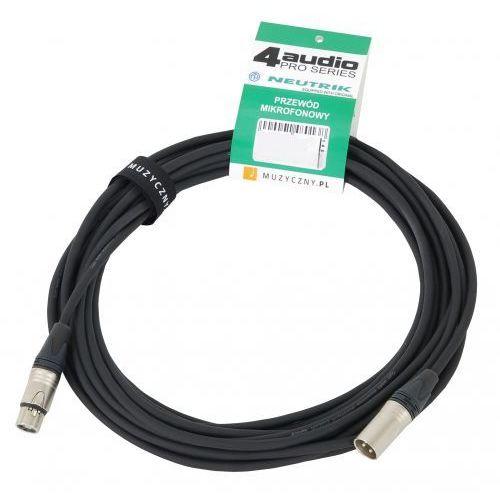 Klotz MIC PRO 5m przewód mikrofonowy XLR-F - XLR-M, Neutrik, MY206, z opaską
