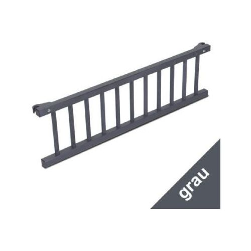 Tobi barierka do łóżeczka dostawnego original szara marki Babybay