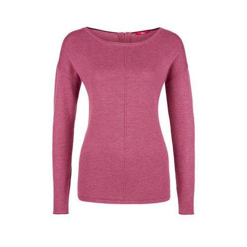 sweter damski 40 bordowy, S.oliver