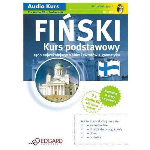 Fiński Dla Początkujących. Kurs Podstawowy. Audio Kurs, 2cd + Podręcznik (9788360415504)