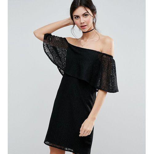 Платье Черное С Открытыми Плечами Купить