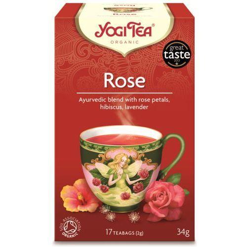 Herbata Tao Rose BIO (Yogi Tea) 17 saszetek po 2g