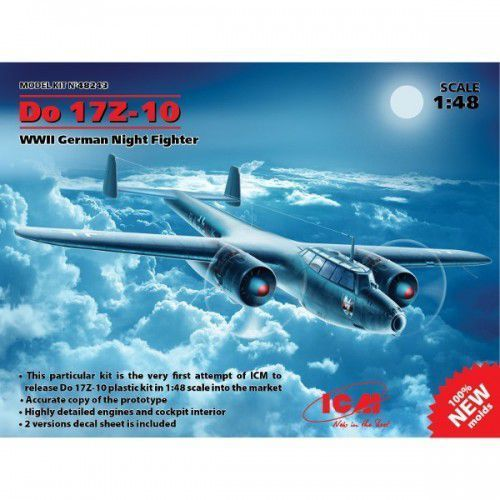 ICM Do17Z-10 WWWII German nightfighter (4823044403578)