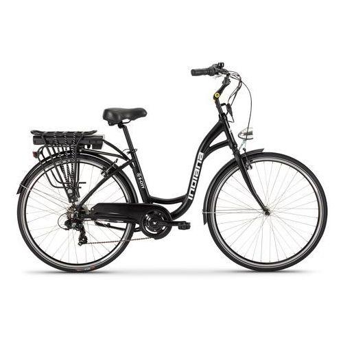 Indiana Rower elektryczny e-city d18 czarny + zamów z dostawą w poniedziałek! + darmowy transport! (5902596717780)