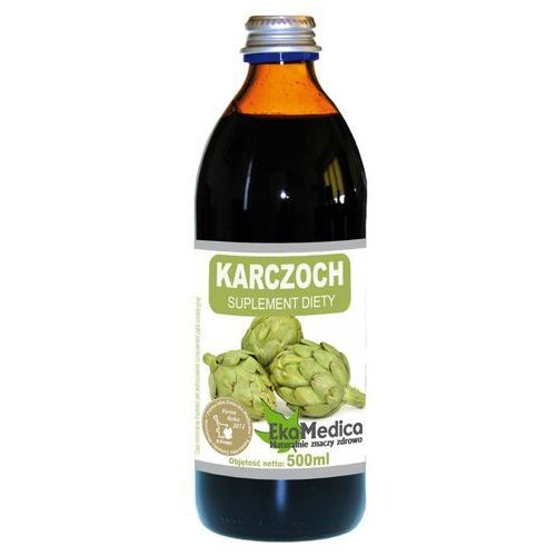 Karczoch sok (500 ml) ekomedica marki Ekamedica