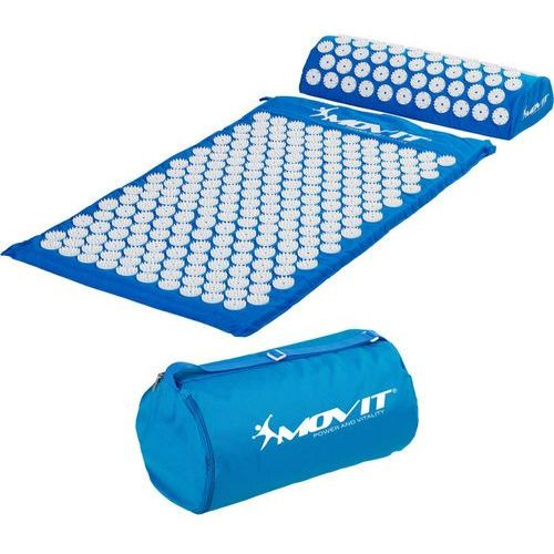 Movit ® Niebieska mata zdrowotna do akupresury z kolcami na ból pleców - niebieski (20040503)