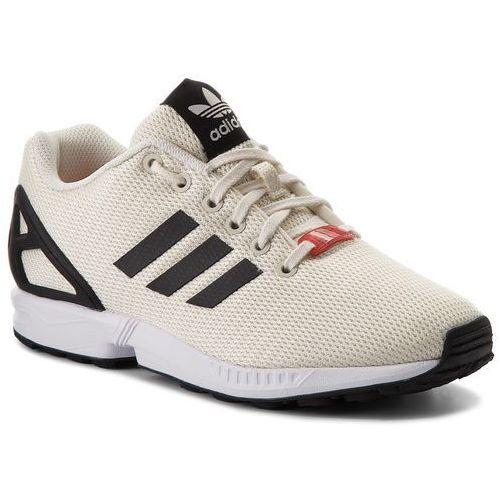 Buty adidas - Zx Flux CQ2834 Owhite/Cblack/Ftwwht, kolor beżowy